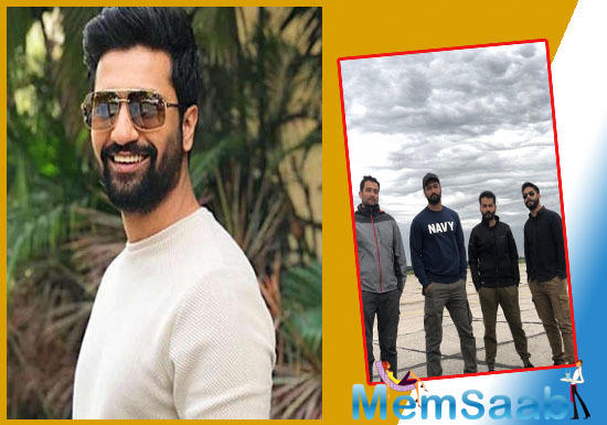 Bollywood actor Vicky Kaushal's next untitled film with director Aditya Dhar, and producer Ronnie Screwvala