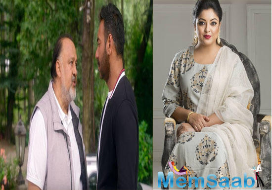 Tanushree Dutta slams Ajay Devgn for working with rape accused Alok Nath