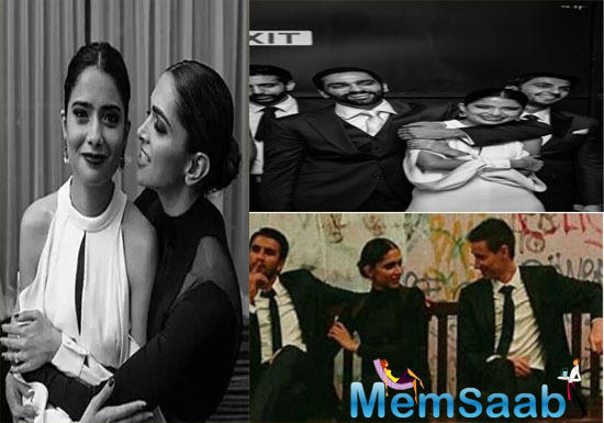 Unseen Pics: Deepika Padukone-Ranveer Singh's from a friend's wedding