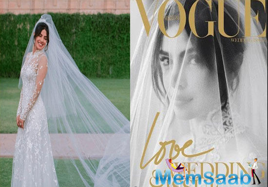 Priyanka Chopra makes for a stunning bride on a magazine cover
