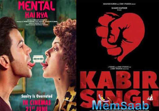 Cross paths again: Shahid Kapoor's Kabir Singh to clash with Kangana Ranaut's Mental Hai Kya On June 21