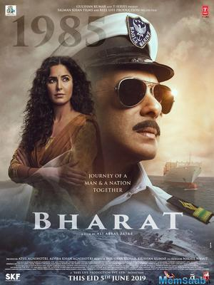 Bharat 5th poster out: Salman Khan's character from 1990 looks intense
