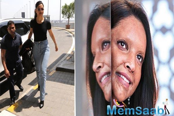 Deepika Padukone wraps the first schedule of Chhapaak