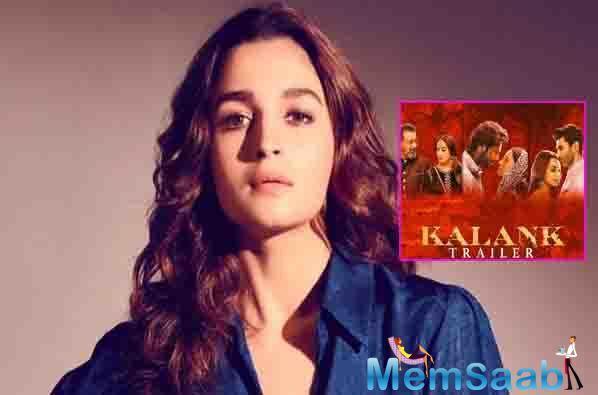 Alia Bhatt reacts on Kalank's failure