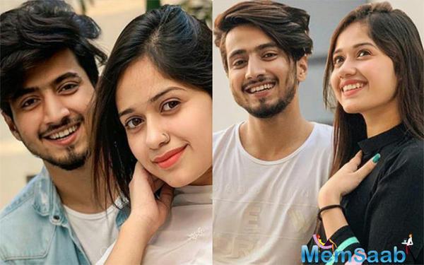 'No kissing on-screen' girl, Jannat Zubair resurfaces; will romance good friend Faisal Shaikh in next