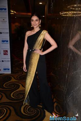 Aditi Rao Hydari wins Dadasaheb Phalke Award for her contribution to South Cinema; thanks fans for their love