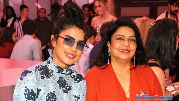 Priyanka Chopra Jonas steps out for dinner with mother Madhu Chopra