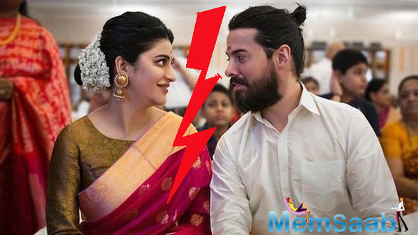 Shruti Haasan breaks up with boyfriend Michael Corsale