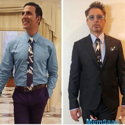 Akshay Kumar puts together a face off with Robert Downey Jr; shares his opinion about Avengers: Endgame
