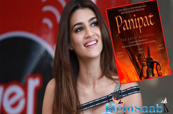 Kriti Sanon on Panipat: Tough to play a Marathi character