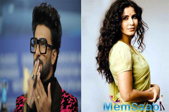 """And in a recent interview with Mirror, when Katrina was quizzed about her rapport and new dosti with Gully Boy, this Fitoor actress had said, """"He is such a darling!"""""""