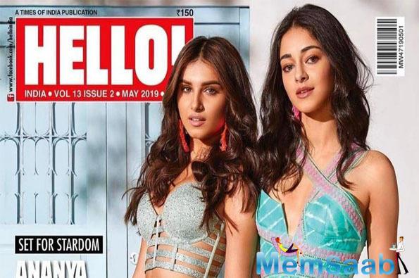 Ananya Pandey and Tara Sutaria shine in latest Hello! Magazine cover