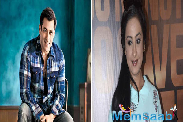Blast from the past: A throwback picture of Salman Khan and Divya Dutta