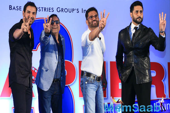 Hera Pheri 3 was to go on the floors in the next few months with same cast in the lead roles.