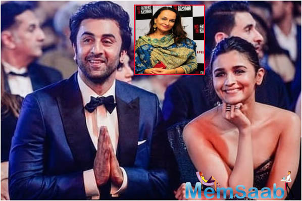 Soni Razdan rubbishes the Ranbir Kapoor-Alia Bhatt marriage 'rumour'