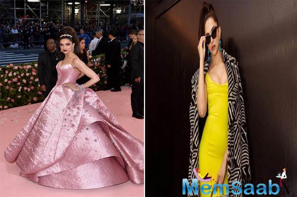 Deepika Padukone and Priyanka Chopra's pictures from the Met Gala 2019 have gone viral on social media.