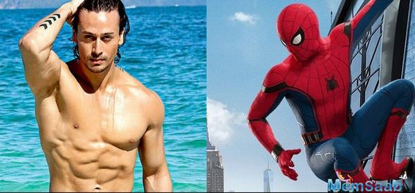 Tiger Shroff aspires to be the next Spiderman for Marvel