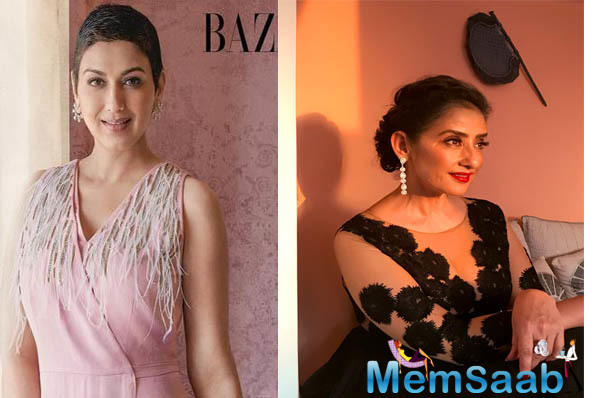 Sonali Bendre on her battle against cancer and how Manisha Koirala has been a big help