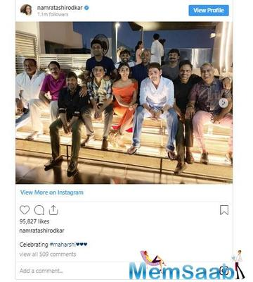 Maharshi: Mahesh Babu, Pooja Hegde and team celebrate the film's positive opening; see pics