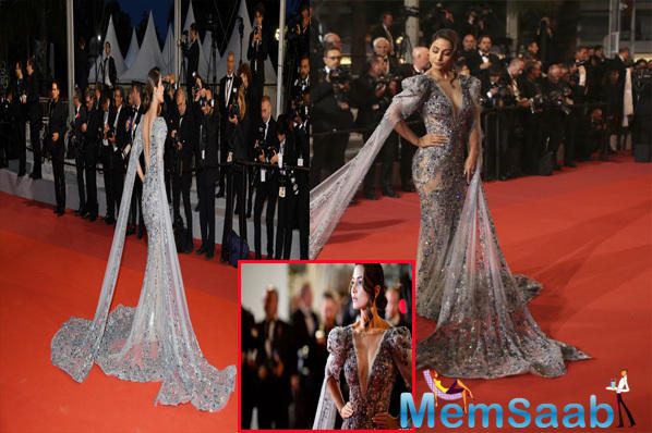Cannes 2019: Hina Khan makes stunning red carpet debut at French Riviera