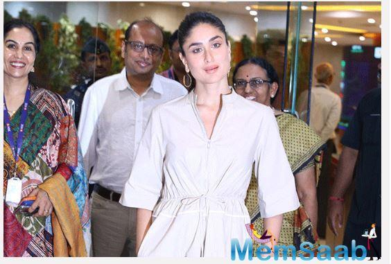 Kareena Kapoor Khan speaks on child healthcare at a UNICEF event