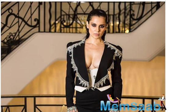 Kangana Ranaut shines at Cannes 2019 with two different looks; view pics
