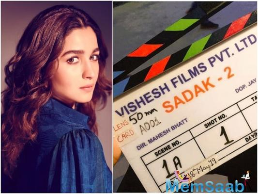 Alia Bhatt, who recently returned from her vacation in Europe, will finally start shooting for the coveted sequel of the 1991 blockbuster film Sadak.