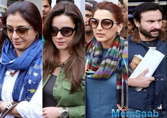 Blackbuck poaching case: Rajasthan HC issues fresh notices to Saif Ali Khan, Sonali Bendre, Neelam Kothari and Tabu