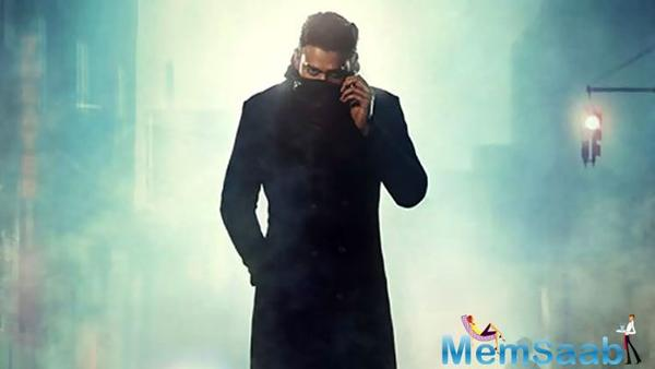 Saaho poster: Prabhas' grim avatar indicates the calm before the storm; take a look