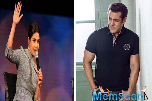 Salman Khan reveals if he will work with Priyanka Chopra again