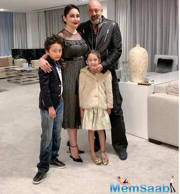Sanjay Dutt takes a small vacation with his family to Europe amid Sadak 2's shoot; here's why