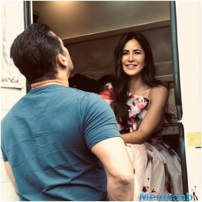 Bharat promotions are keeping Katrina Kaif and Salman Khan busy. The trailer and songs of the film are receiving lots of appreciation and fans are eagerly waiting to watch the actors together again