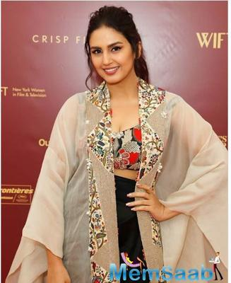 Adding to an ever-growing list of Bollywood actresses who turned heads at the ongoing 72nd Cannes Film Festival, Huma Qureshi oozed glamour in her three-piece outfit in Anamika Khanna couture at the French Riviera.