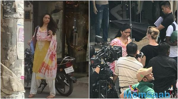 Deepika Padukone, who dazzled on the red carpet for Cannes, is back to shooting for her first film as a producer, Chhapaak. The movie, also starring Vikrant Massey, is being helmed by Meghna Gulzar.