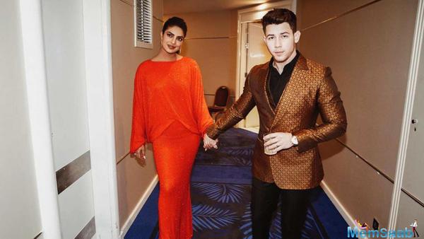 Priyanka Chopra  and husband Nick Jonas set the Cannes 2019 red carpet on fire.