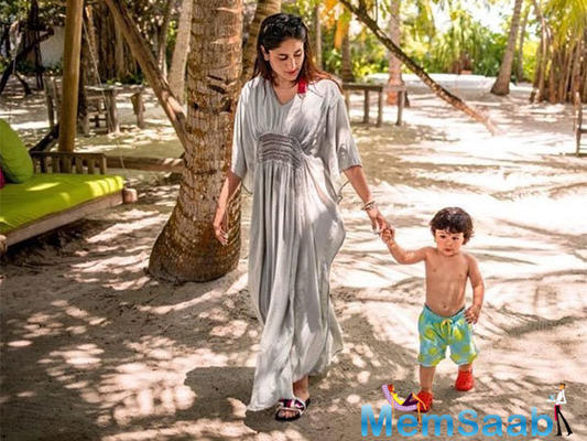 Paranoid Kareena Kapoor doesn't allow Taimur Ali Khan to eat and drink outside