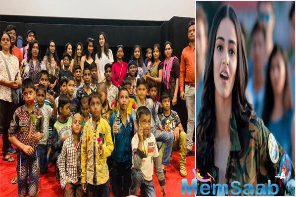 Ananya Panday surprises the kids at a special screening for Student Of The Year 2