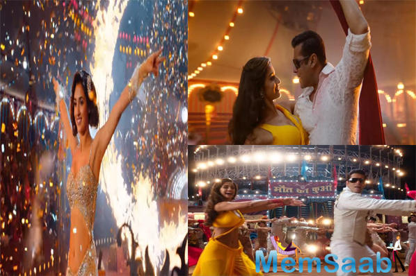Disha Patani shares the screen space for the first time with Salman Khan in Bharat. While we loved their chemistry in the song Slow Motion, she confessed this might be the only time the duo will be seen together.