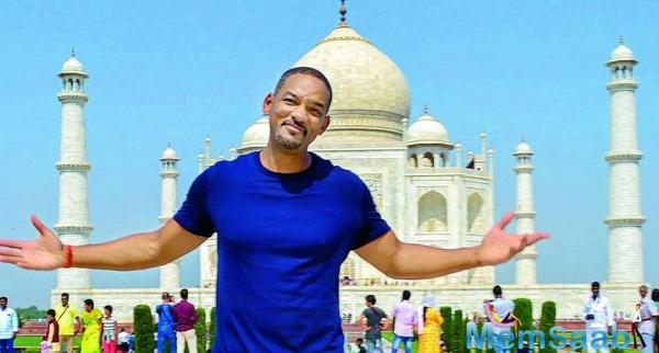 Will has already made a few visits to India partying with Akshay Kumar and Sonam Kapoor for starters and is keen to explore the Bollywood side of the movies.