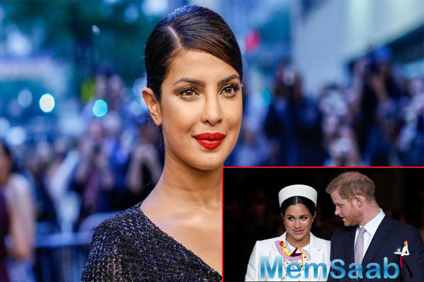 Priyanka Chopra calls Meghan Markle a victim of racism; check out here