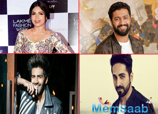 Bhumi Pednekar's next will be with Ayushmann Khurrana, Vicky Kaushal and Kartik Aaryan