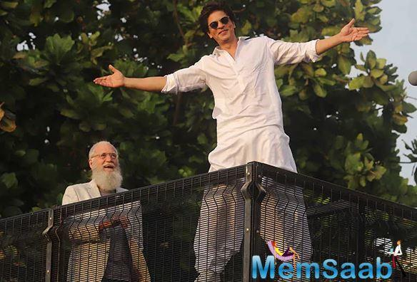 Now, Mirror has learnt that Letterman is in India to film some portions for the episode.