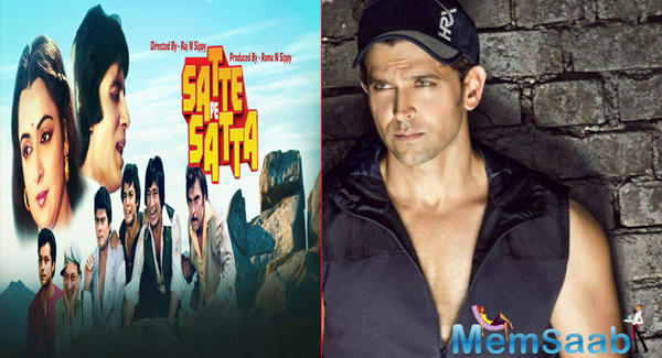 Hrithik Roshan to play the role of Amitabh Bachchan in Farah Khan's remake of 'Satte Pe Satta'?