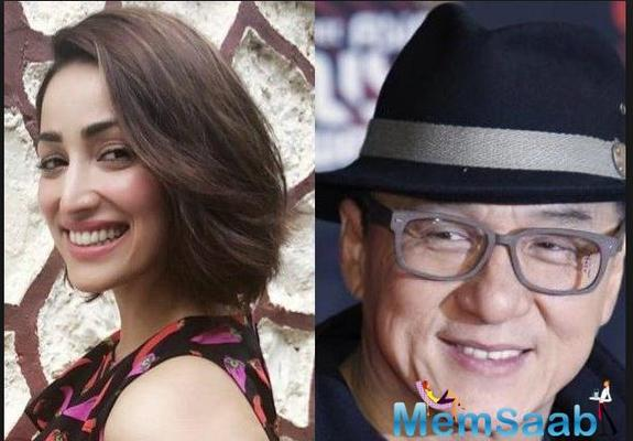Yami Gautam gets a special gift from Jackie Chan; Check it out