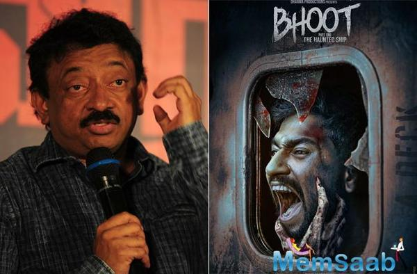 Ram Gopal Varma's comment on Vicky Kaushal's Bhoot's first look poster