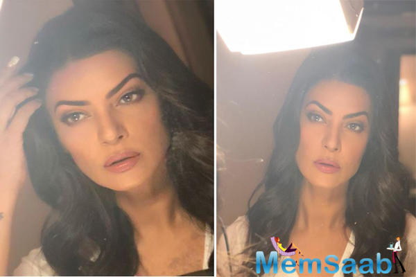 Sushmita Sen's selfie is winning the internet as she gears up for 'Round 2', writes, 'I prep for my return'