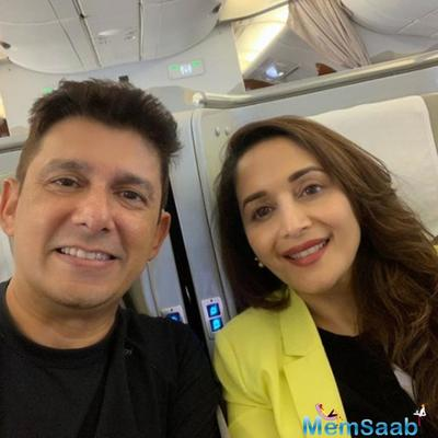 Madhuri Dixit spends some quality time in Rome with husband Shriram Nene & kids