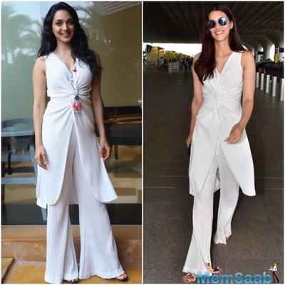 Fashion Faceoff: Kiara Advani or Kriti Sanon: Who wore the ivory pleated Esse Clothing outfit better?