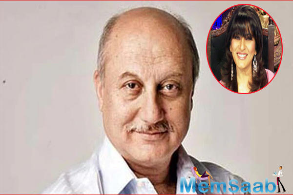 Anupam and Archana, who entertained the audience with their chemistry as Mister Malhotra and Miss Braganza in Kuch Kuch Hota Hai, shared an anecdote about a kissing scene they were supposed to do in their 1989 movie Ladaai.