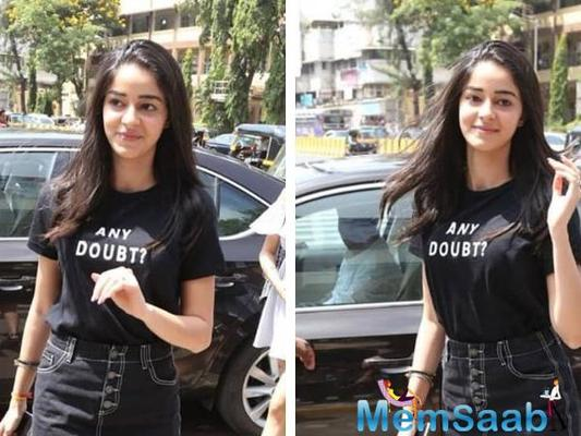 Ananya Panday's latest sartorial choice is winning hearts
